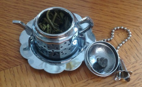 my little teacup shaped infuser