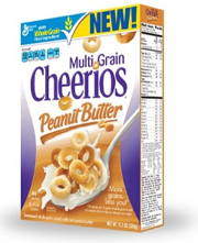 multi-grain peanut butter cheerios
