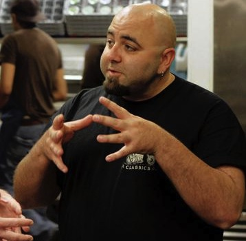 bloated and obese duff goldman from the new food network show sugar high