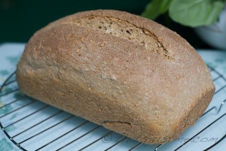 finished loaf cooling