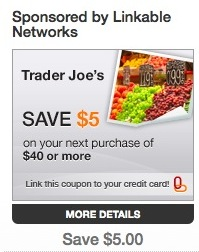 mylinkables offering trader joe deal