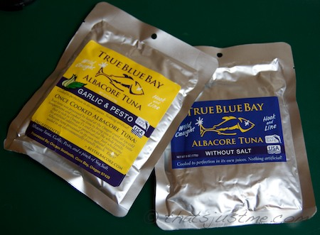 true blue bay tuna - sample packs