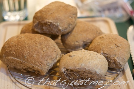 wheat rye sunflower caraway rolls