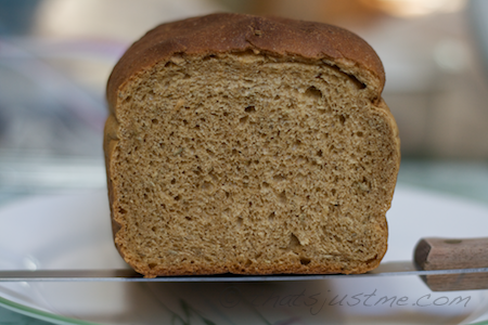 whole wheat rosemary bread crumb